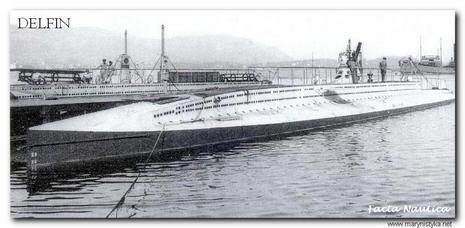 Greek submarine DELHIN (DELFIN).
