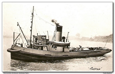 Polish tug TARPAN, ex British EMPIRE MAPLE