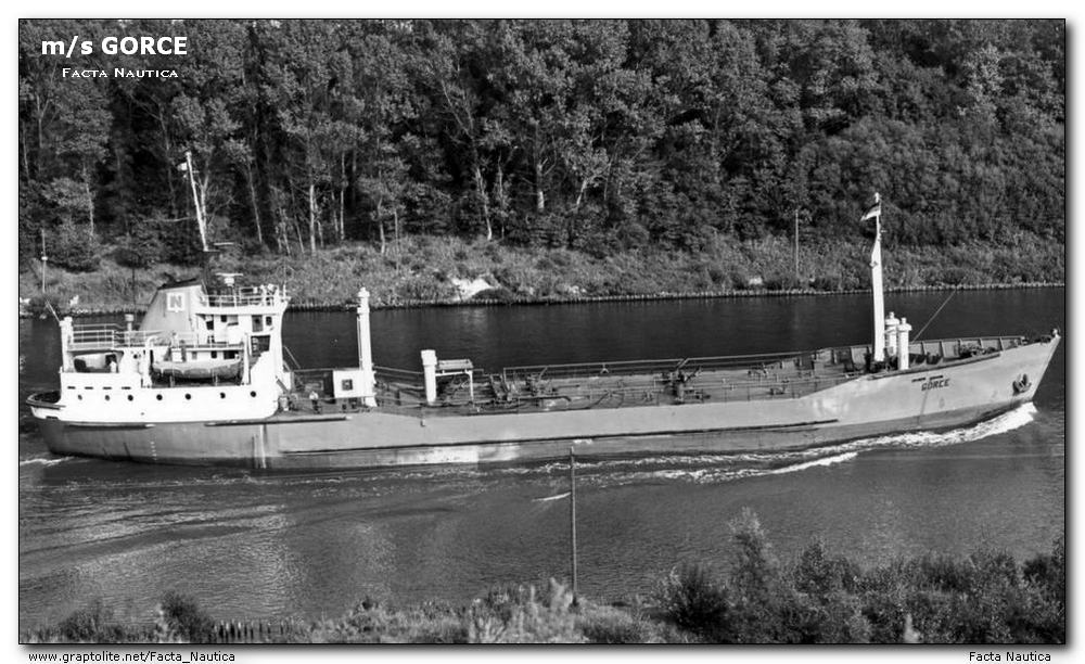 Polish tanker MV GORCE.