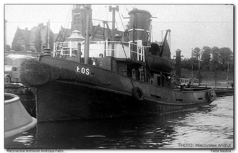 Polish tug �O�, ex British EMPIRE WILLOW