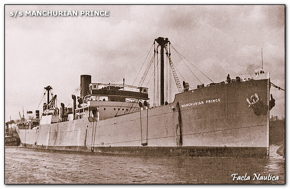 SS NAANA under her former name MANCHURIAN PRINCE.