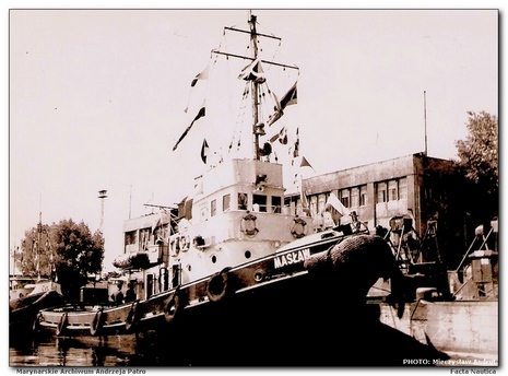 Polish harbour tug MAS�AW  (project 501)