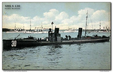 German torpedo boat SMS S 130 (later T 130)