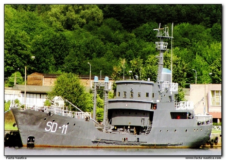 SD_!! - degaussing vessel, Polish Navy
