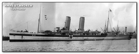 Hospital ship HMHS ST. ANDREW