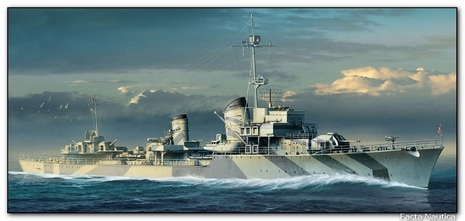 German destroyer Z32 - Kriegsmarine