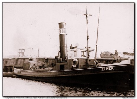 Polish tug ZENEK, ex German ???