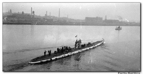 U-Boot. U-boat. German submarine.
