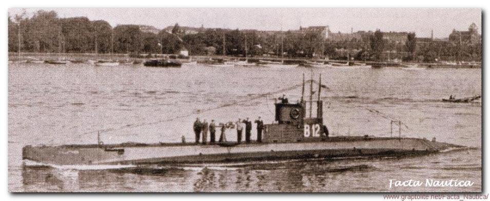 The Danish submarine GALATHEA in 1935.